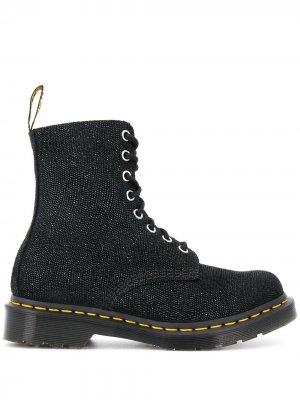 Декорированные ботинки Pascal Dr. Martens. Цвет: черный