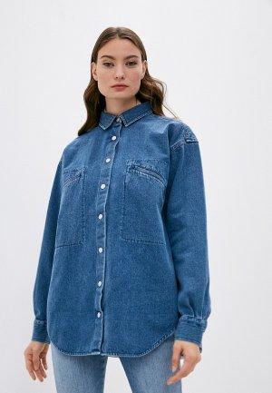 Рубашка джинсовая Closed. Цвет: синий