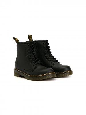 Ботинки Delany Dr. Martens Kids. Цвет: черный