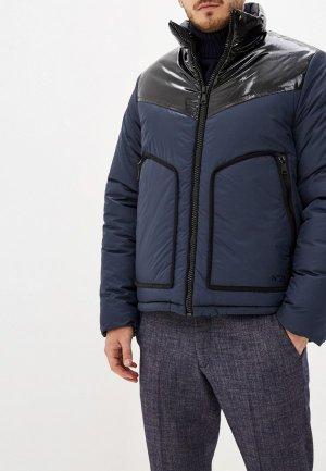 Куртка утепленная N21. Цвет: синий