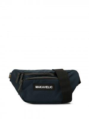 Поясная сумка Makavelic. Цвет: синий