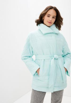 Куртка утепленная Odri Mio. Цвет: зеленый