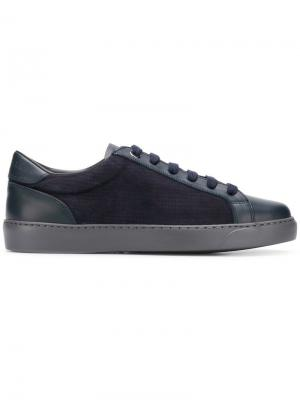 Low top sneakers Canali. Цвет: синий