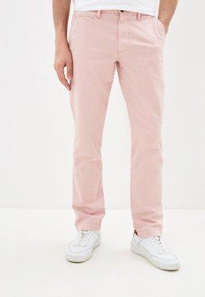 Чиносы Gap. Цвет: розовый