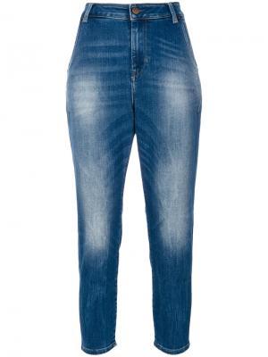 Зауженные джинсы Diesel. Цвет: синий