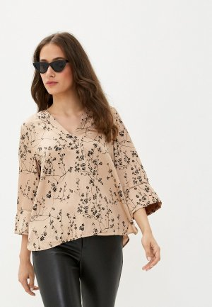 Блуза Twist & Tango. Цвет: бежевый