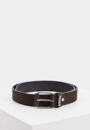 Ремень Trussardi Jeans. Цвет: коричневый