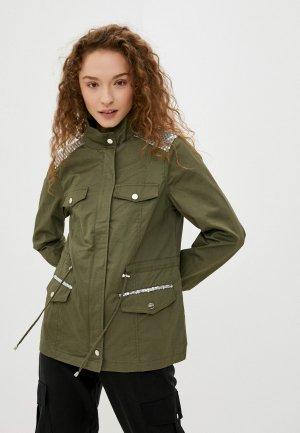 Куртка Softy. Цвет: хаки