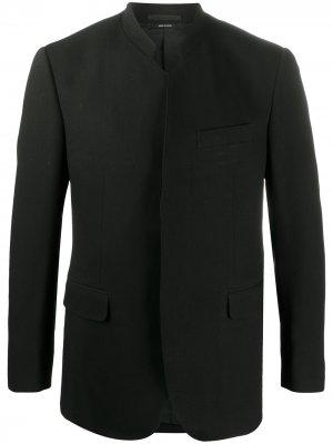 Пиджак прямого кроя Issey Miyake Men. Цвет: черный
