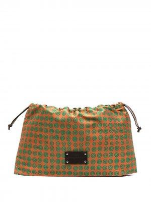 Дорожная сумка Ira с логотипом 10 CORSO COMO. Цвет: оранжевый