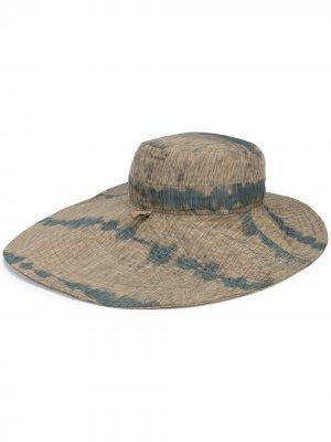 Шляпа Fast Safari HENRIK VIBSKOV. Цвет: коричневый