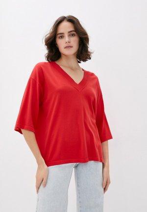 Пуловер Trussardi Jeans. Цвет: красный