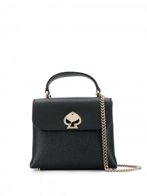 Мини-сумка на плечо Romy Kate Spade. Цвет: черный