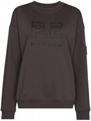 Толстовка Heads Up P.E Nation. Цвет: серый