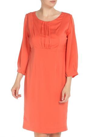 Платье MODART. Цвет: коралловый