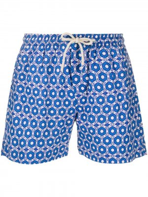Плавки-шорты Ischia PENINSULA SWIMWEAR. Цвет: синий