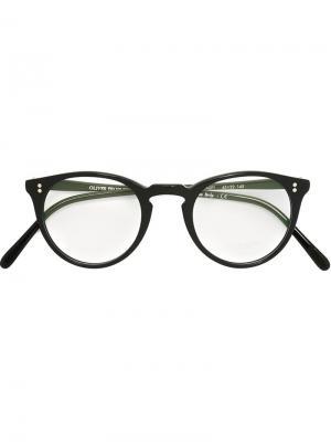Оптические очки OMalley Oliver Peoples. Цвет: черный