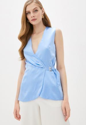 Блуза LAutre Chose L'Autre. Цвет: голубой