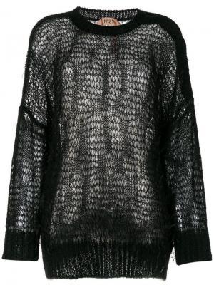 Loose-knit jumper Nº21. Цвет: черный
