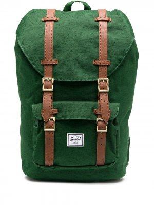 Рюкзак с карманами Herschel Supply Co.. Цвет: зеленый
