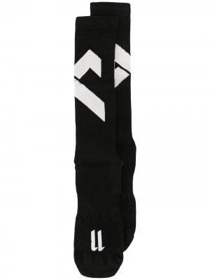 Носки с контрастными вставками 11 By Boris Bidjan Saberi. Цвет: черный