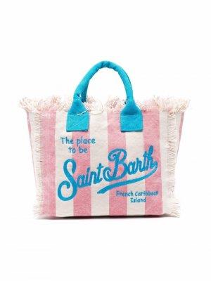 Пляжная сумка-тоут Colette Mc2 Saint Barth Kids. Цвет: нейтральные цвета