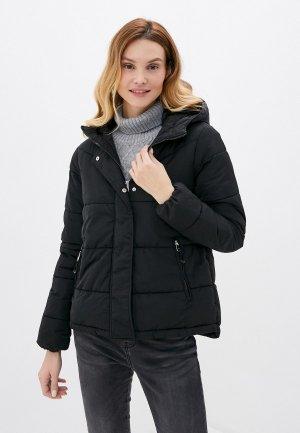Куртка утепленная Springfield. Цвет: черный