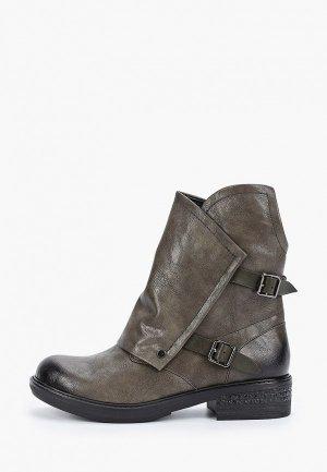 Ботинки Betsy. Цвет: хаки