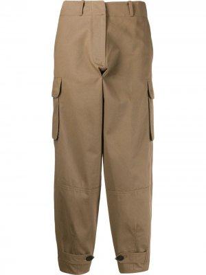 Укороченные брюки свободного кроя Antonio Marras. Цвет: коричневый