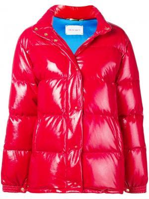Куртка Rainbow Week Alberta Ferretti. Цвет: красный