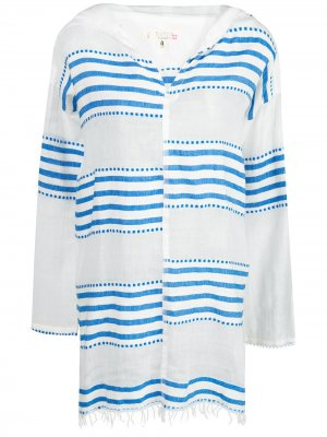 Пляжное платье Eshe lemlem. Цвет: синий