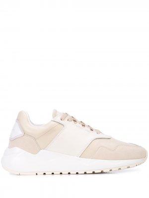Двухцветные кроссовки Buscemi. Цвет: белый