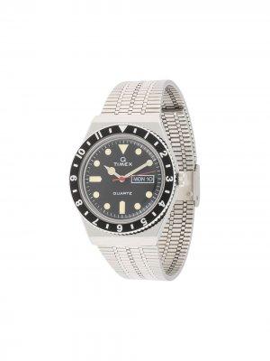 Наручные часы Q Timex Reissue Color Series 38 мм. Цвет: серебристый
