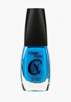 Лак для ногтей Chatte Noire. Цвет: синий