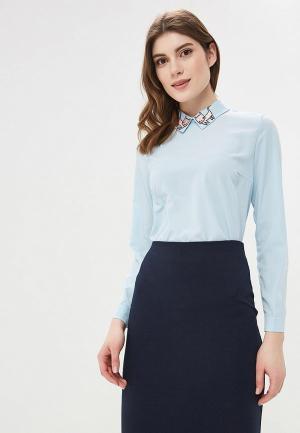 Блуза Befree. Цвет: голубой