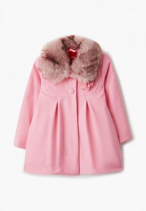 Пальто s.Oliver. Цвет: розовый