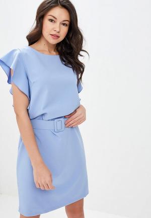 Платье Miss by Valentina. Цвет: голубой