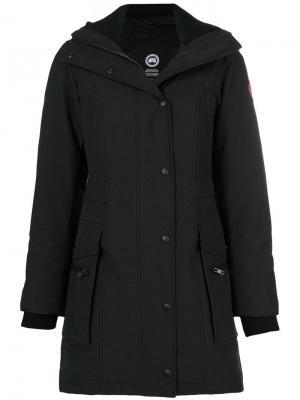 Hooded parka Canada Goose. Цвет: черный