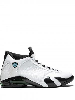 Кроссовки Air  14 Retro Jordan. Цвет: белый