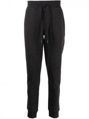 Спортивные брюки с логотипом Moncler. Цвет: серый