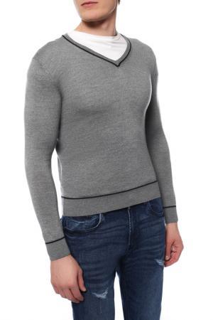 Пуловер MARINA YACHTING. Цвет: серый
