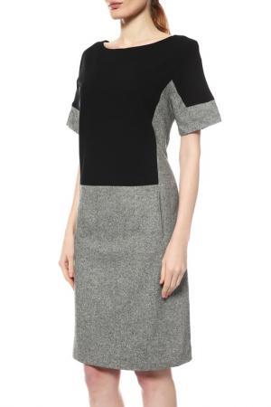 Платье PAROLE by Victoria Andreyanova. Цвет: серый