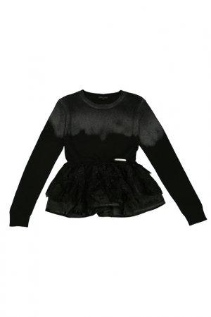 Пуловер FMJ. Цвет: серый
