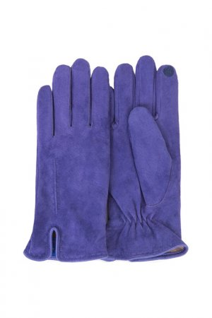 Перчатки Dali Exclusive. Цвет: аметистовый