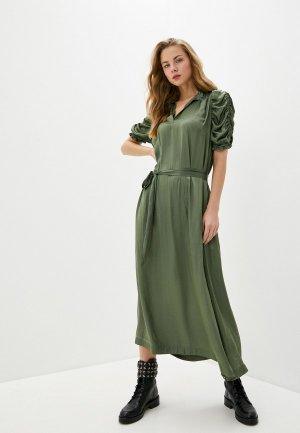 Платье Zadig & Voltaire. Цвет: зеленый