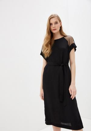 Платье Escada Sport. Цвет: черный
