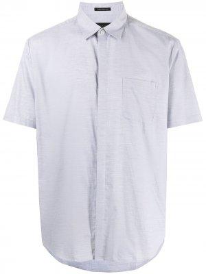 Durban рубашка на пуговицах с короткими рукавами D'urban. Цвет: серый
