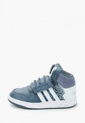 Кеды adidas. Цвет: синий