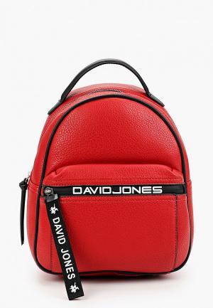 Рюкзак David Jones. Цвет: красный