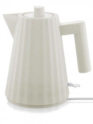Электрический чайник с европейской вилкой Alessi. Цвет: белый